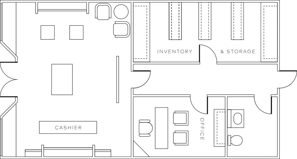 Business Floor Plan